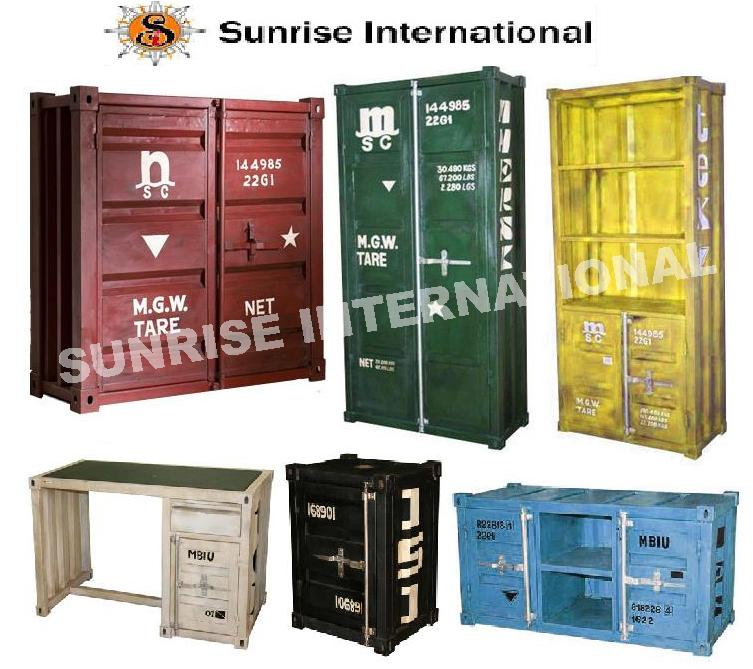 Industrial Furniture Container Range, shipping container furniture series