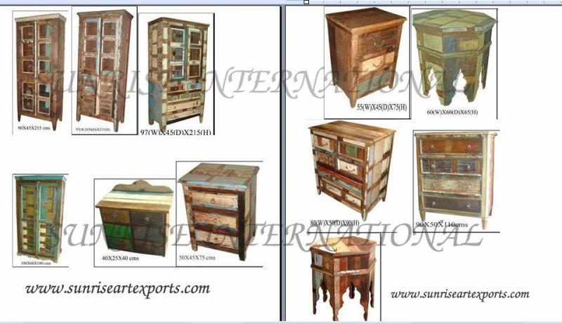 Reclaimed wood furniture, old wood furniture, recycled wood furniture , wooden