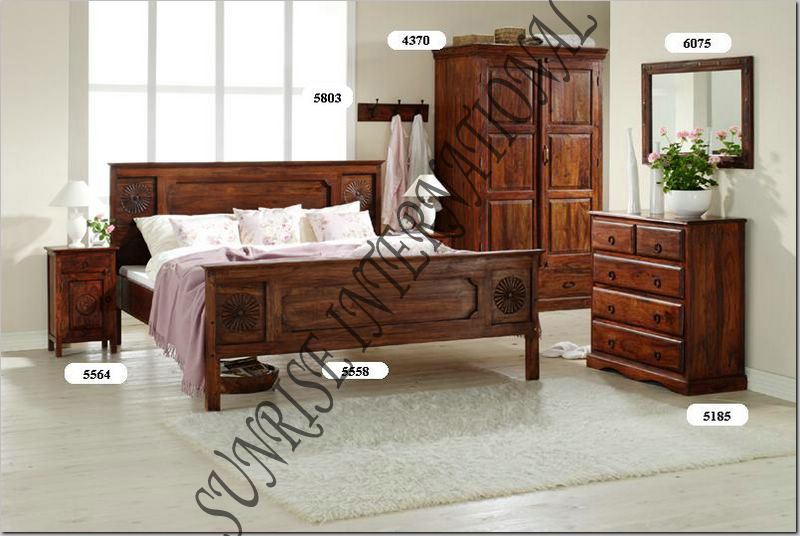 SUNRISE INTERNATIONAL - Wooden Bedroom Sets