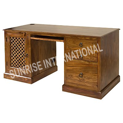 Wood Computer Furniture on Sunrise International   Wooden Writing   Computer Tables