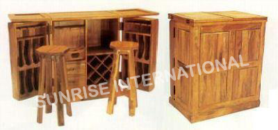 Furniture Manufacturer Wooden Wine Racks Wooden Bar